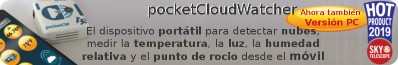 pocketCloudWatcher de Lunático