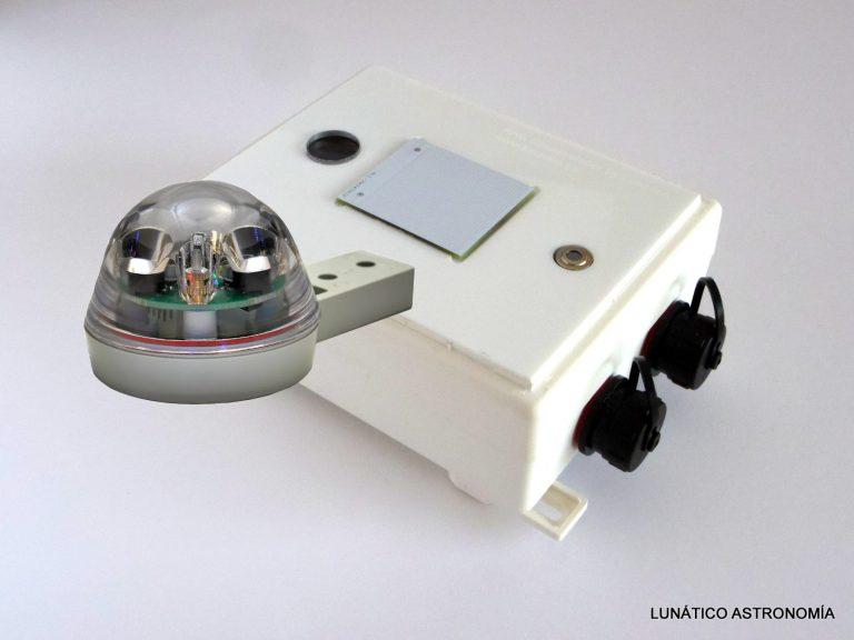 CloudWatcher with Hydreon rain gauge rg-9