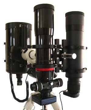 DuoScope system, the best solution to reduce the weight of your equipment.