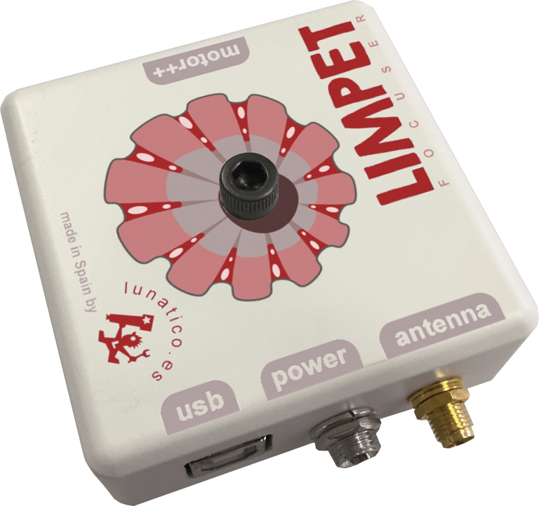 Limpet focuser with WIFI and USB connection.